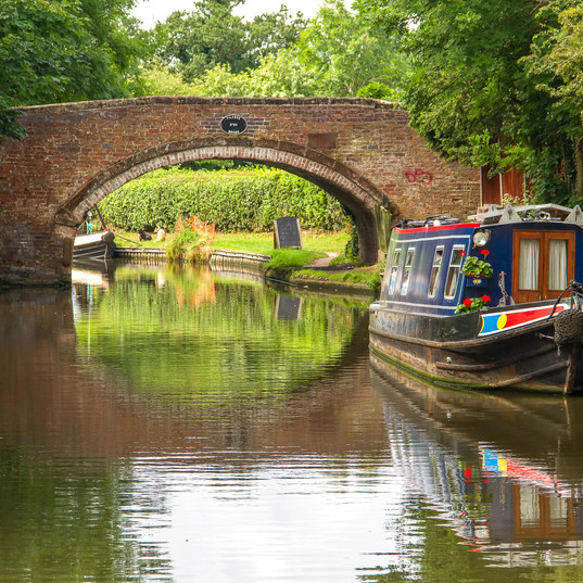 Did you know...Birmingham and the West Midlands are said to have more miles of canal than Venice.