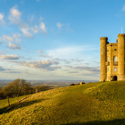 Did you know? Broadway Tower looks out over 16 counties.