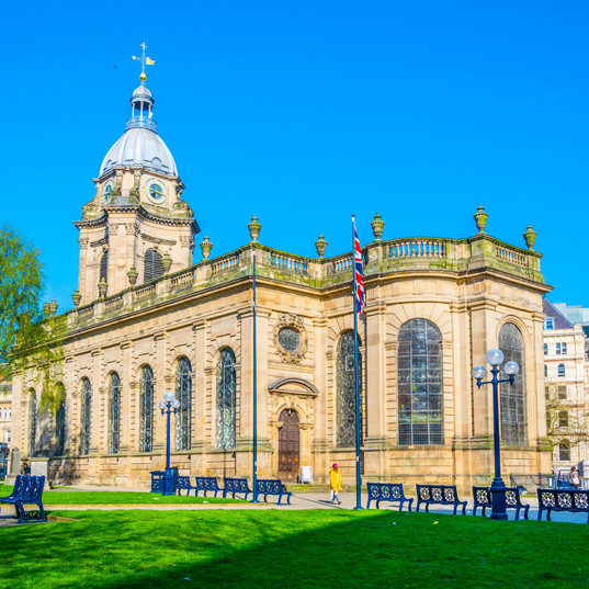 Did you know...St Phillip's Cathedral in Birmingham (pictured) is not named after a saint.