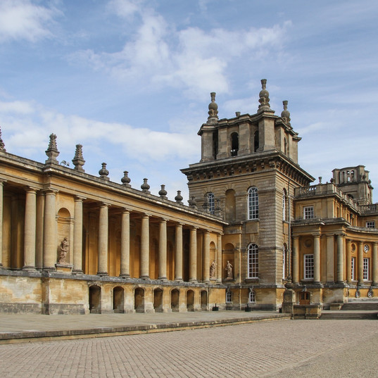 Did you know...Blenheim Palace was the gift of a grateful nation to the 1st Duke of Malborough, an ancestor of Winston Churchill.
