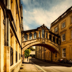 Did you know...legend has it that the Bridge of Sighs was once closed to help students lose weight by using the stairs.