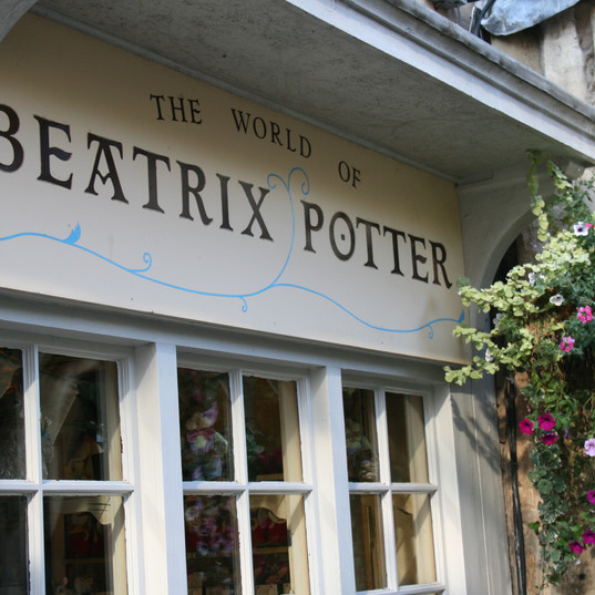 Did you know...the Tailor of Gloucester by Beatrix Potter is based on a real story.