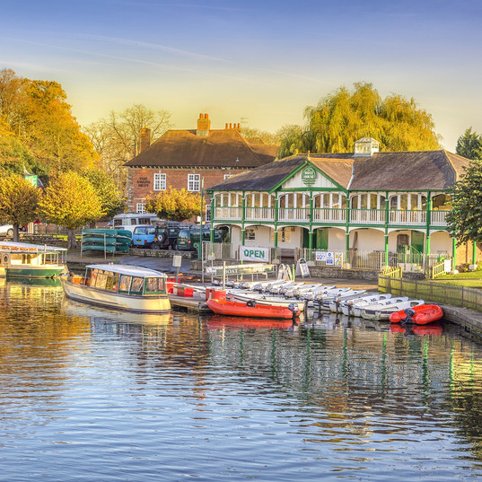 Did you know... the word Avon means river. So the River Avon is just river river.