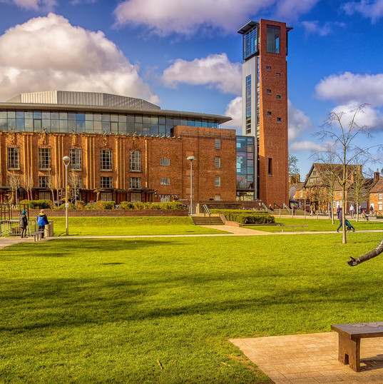 Did you know... The Royal Shakespeare Theatre was the first building in England to be designed by a woman.