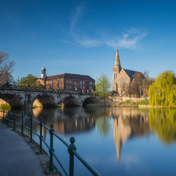 Did you know? Shrewsbury has two bridges, one English and one Welsh
