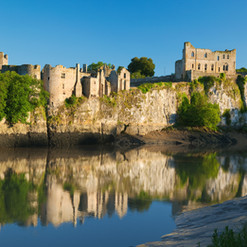 Did you know...Chepstow Castle (pictured) is the oldest standing stone castle in Britain.