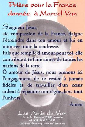 La prière pour la France (Visuel 2)