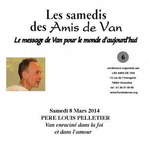 """CD n°6: """"Van, enraciné dans la foi et dans l'amour"""""""