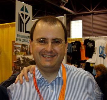 Cyril Poncet, trésorier