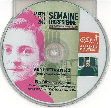 Mini Retraite CD n°2 par le père de Roulhac