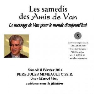 "CD n°5: ""Avec Marcel Van, redécouvrons la filiation"""