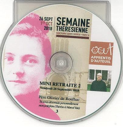 Mini Retraite CD n°3 par le père de Roulhac