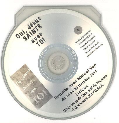 """CD 4 : """"Miséricorde de Dieu, soif de l'homme"""" par le père Jules Mimeault"""