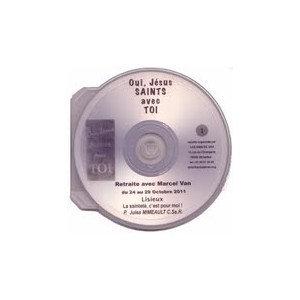 """CD 5: """" Traverser la nuit avec Jésus au coeur du monde"""" par le père D. Joly"""
