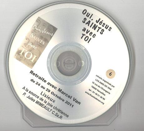 """CD 6 : """"A la source de la joie chrétienne"""" par le père Jules Mimeault"""