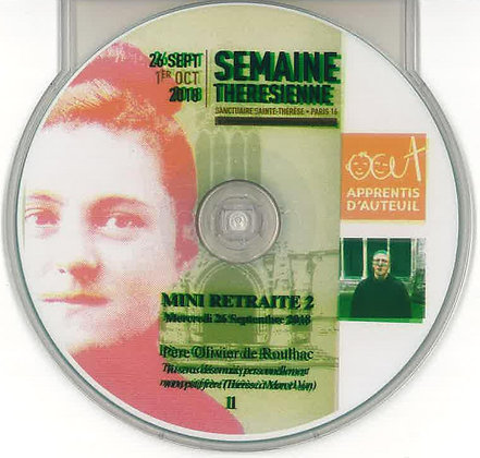 Mini Retraite CD n°1 par le père de Roulhac