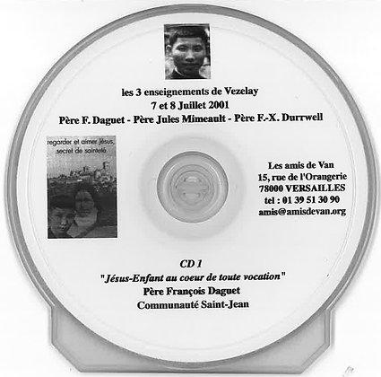 CD 1 : Jésus-Enfant au cœur de toute vocation