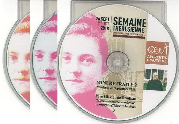 Les 3 CD de la mini Retraite