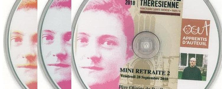 Les 3 CD de la mini Retraite par le père de Roulhac