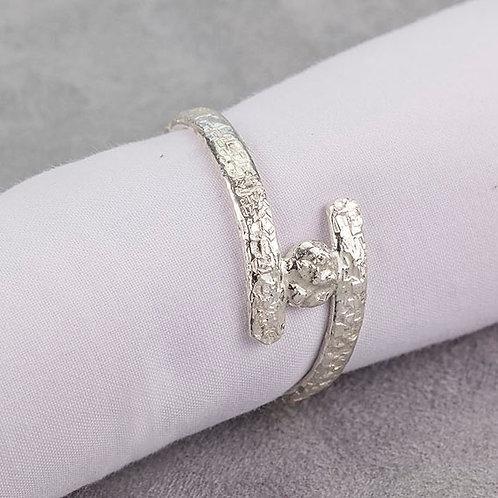 Distressed Napkin Ring