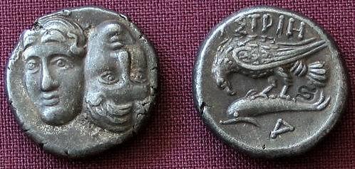 Istros Stater Greece 400-320 BC fine silver replica coin
