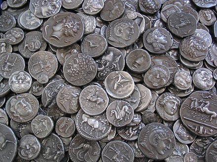 Greek replica coins by Antiquanova