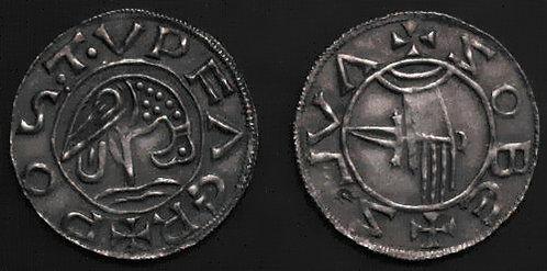 Sobeslaus Slavnik Denarius Bohemia 981-995 fine silver replica coin