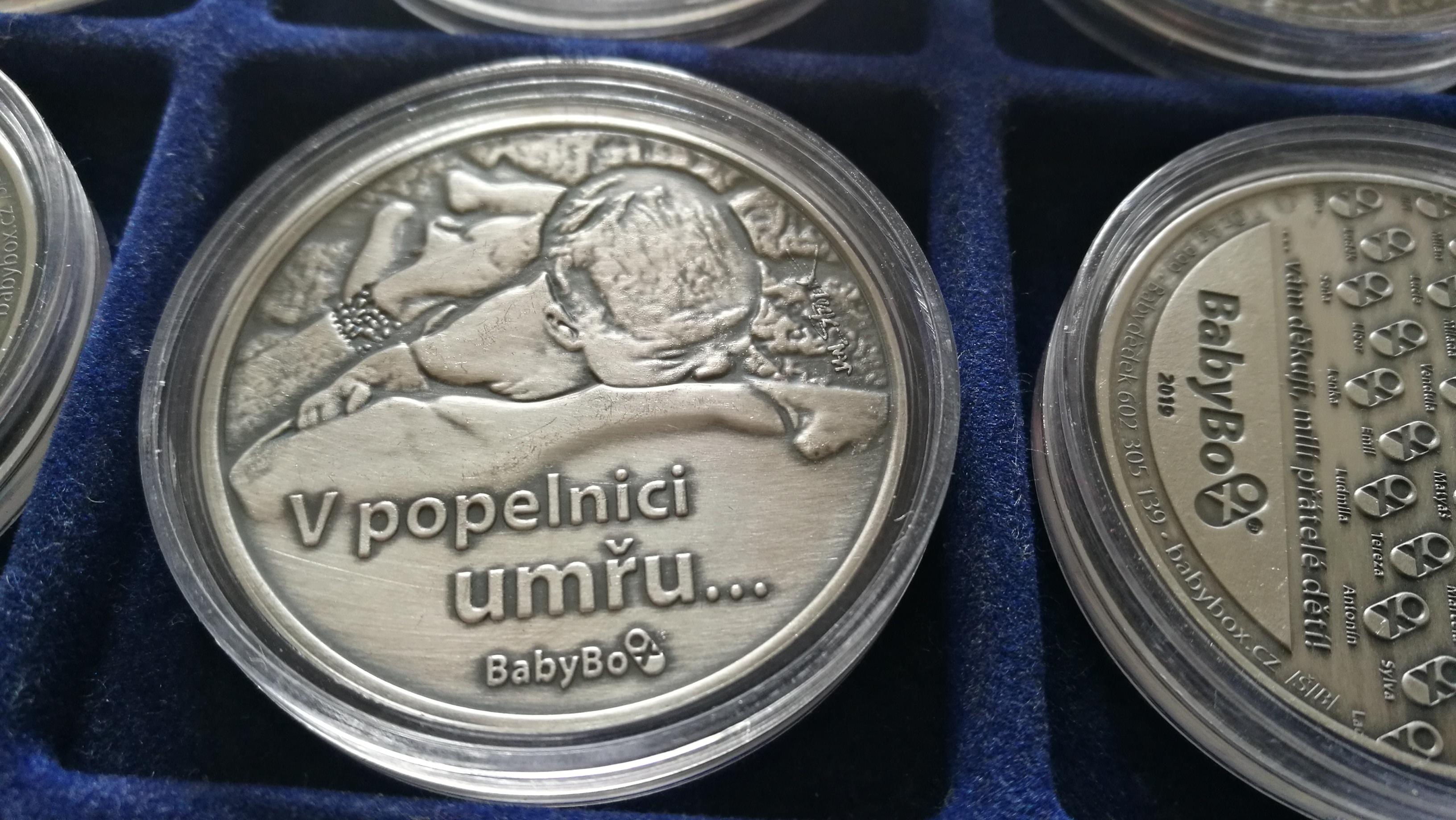 Stříbrná medaile Babybox
