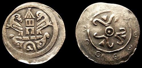 Premysl margrave of Moravia Pfennig-type Denarius Moravia 1228-1239 fine silver