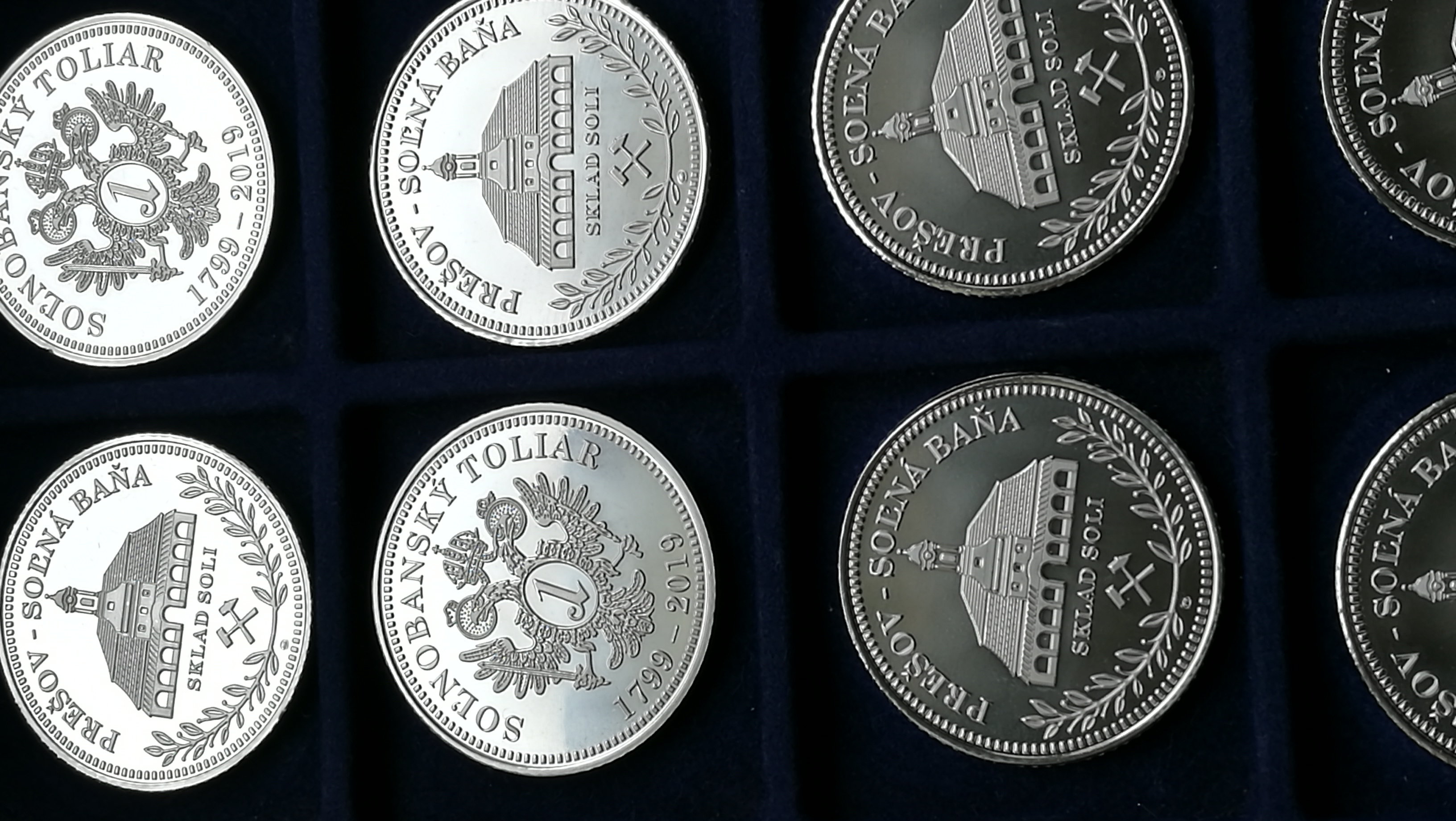 Solnobanský toliar _ Medailer