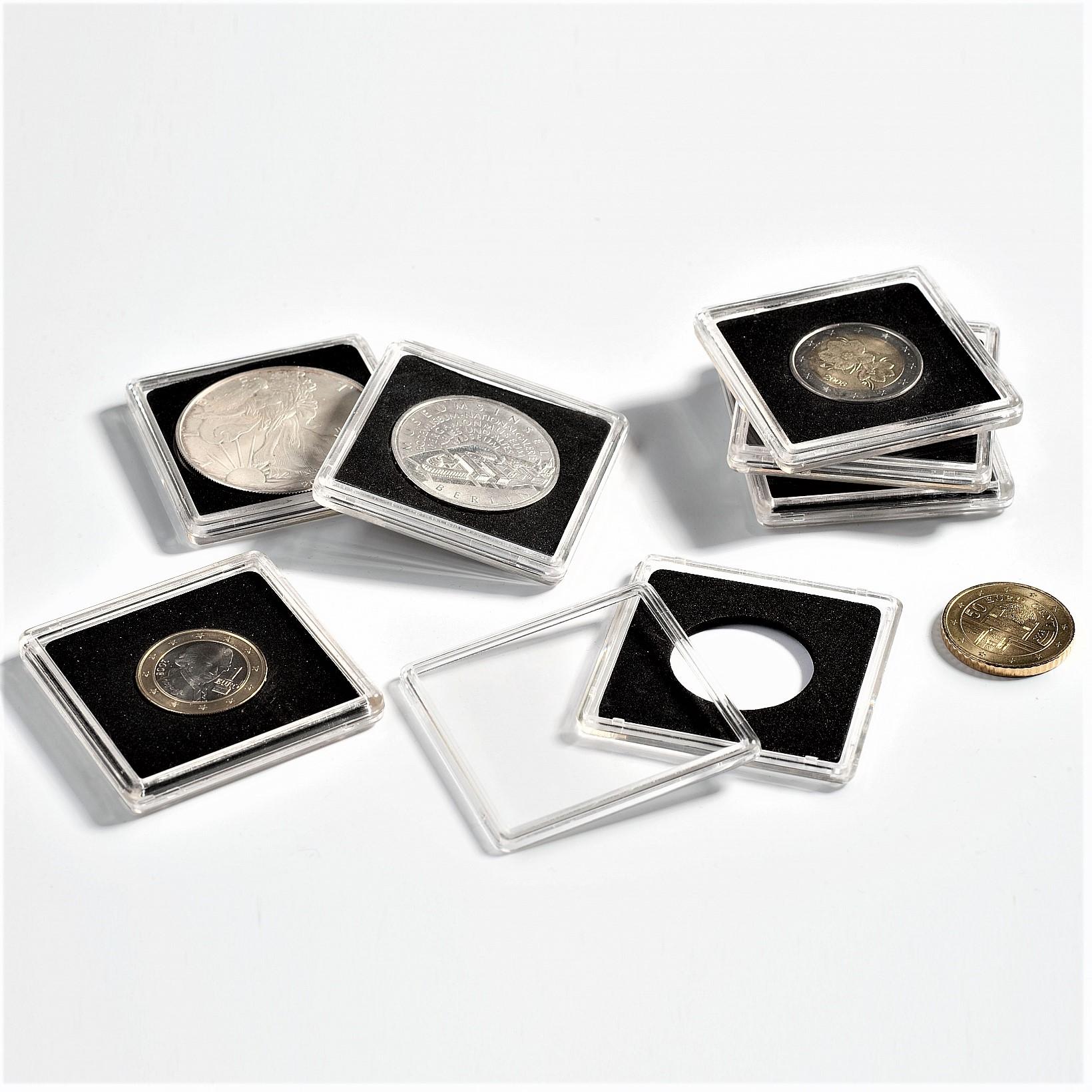 Hranaté kapsle na mince