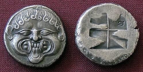 Neapolis Stater Greece 510-480 BC fine silver replica coin