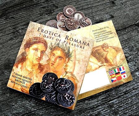 7 DAYS OF PLEASURE erotic coins set