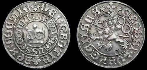 Ladislaus Jagiellon Prague Groschen Bohemia 1471-1516 fine silver replica coin