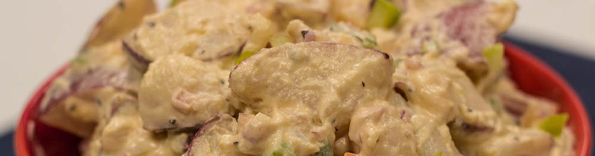 The pototato salad