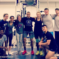 It's been real Penn State weightlifting. I will truly miss lifting with this squad everynight. Alway