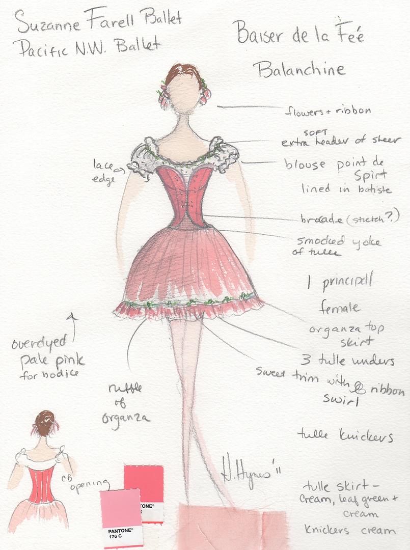 Le Baiser de la Feé - Constultant - Suzanne Farrell Ballet
