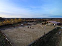 Carrière 60 m x 40 m