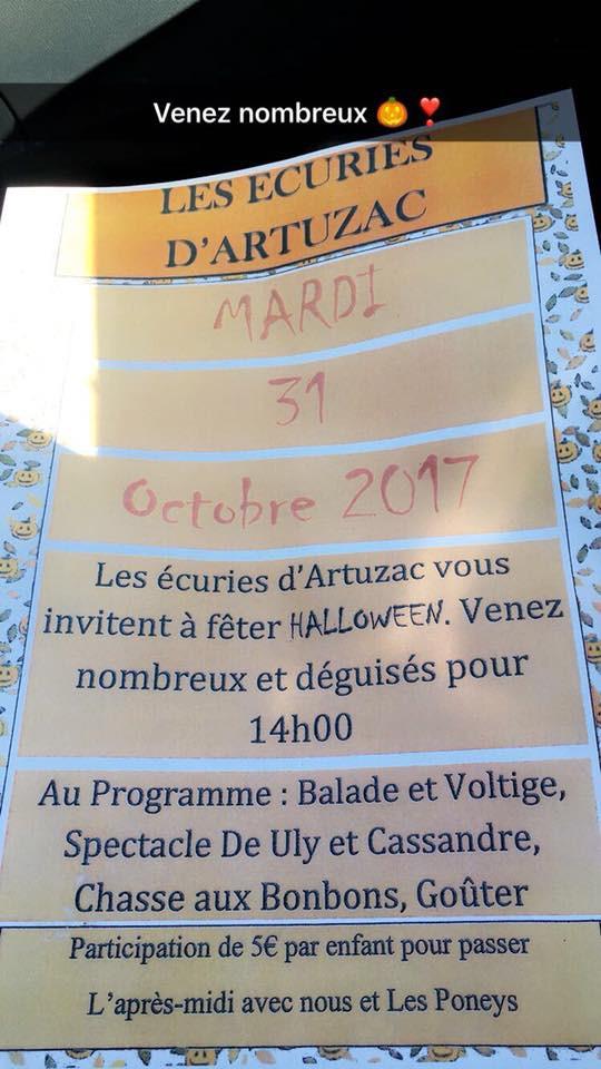 Halloween à Artuzac