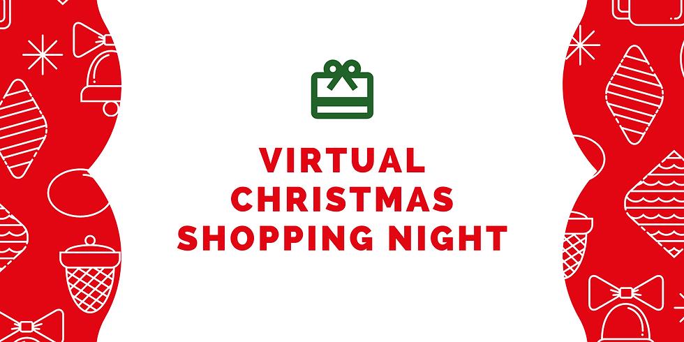 Virtual Christmas Shopping Night