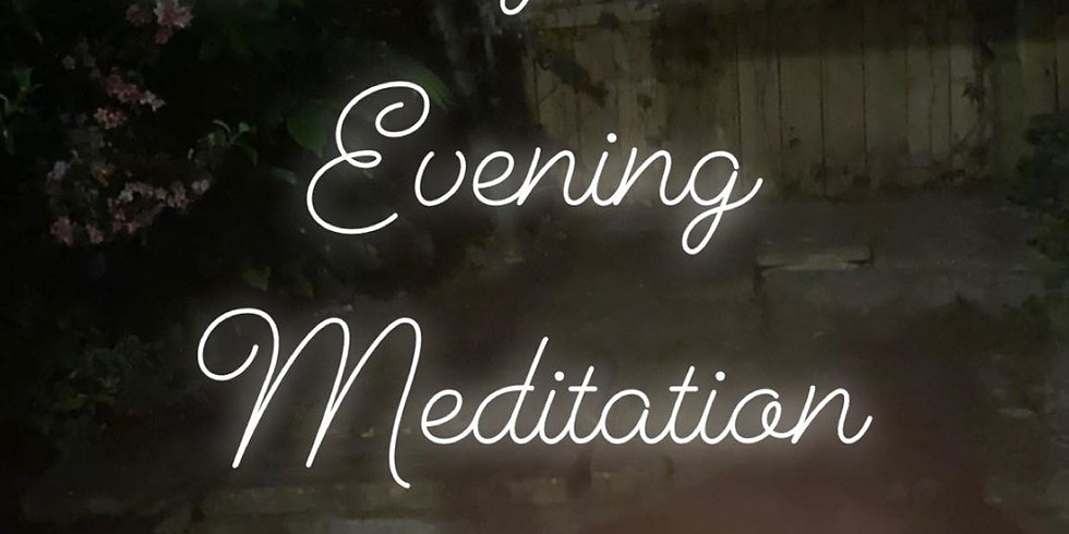 Weekly Online Evening Meditation