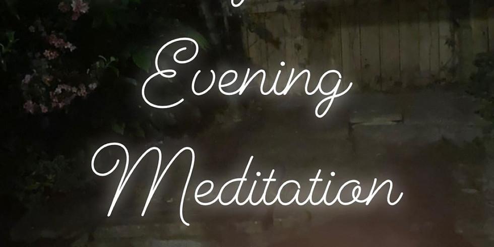Weekly Online Evening Meditation  (1)