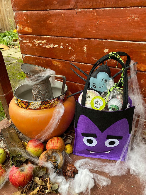 Spooktacular Dracula Trick Or Treat Bag
