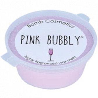Pink Bubbly Mini Wax Melt