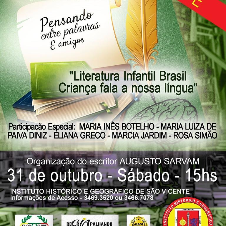 """Literatura Infantil Brasil Criança fala a nossa Língua"""