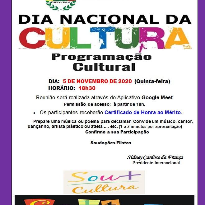 Dia Nacional da Cultura