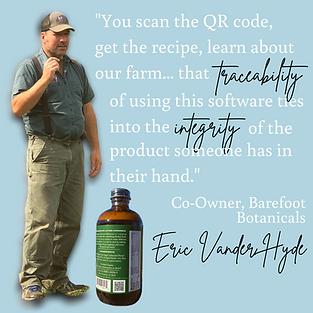 QR Code Food Labeling