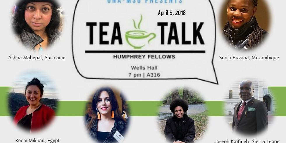 Tea Talk hosted by MSU United Nations Association