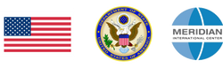 Logos and flag