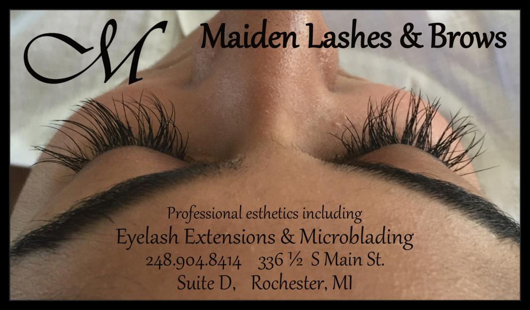 Maiden Lashes Brows Best Microblading Eyelash Services In Mi